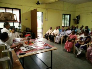 3- Senior Citizens Get together - Brahmakumaris Airoli