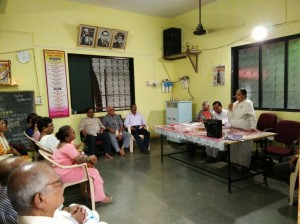 8- Senior Citizens Get together -Brahmakumaris  Airoli